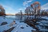 IMGP3643-Edit (Matt_Burt) Tags: dog ice luna rapids sky snow sunset water whitewaterpark winter