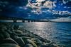Öresundsbron (Maria Eklind) Tags: malmöoutdoor himmel öresund malmö swedeen sea water bridge sky sweden öresundsbron architecture bro burning skånelän sverige se