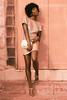Samm Samm (nigelelli0tt) Tags: blue pink rose gold naturallight natural dress purse heels brows highlights melanin fashion beauty hair lighting downtown shoes black pinky retouch