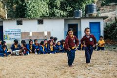 Dance (酷哥哥) Tags: dance children nagarkot nepal nepalese