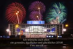 Guten Rutsch! (uwe1904) Tags: 20mm architektur citylights cityfotos deutschland ge gebäude gelsenkirchen lichter mir nachtaufnahmen pentaxk1 ruhrpott samyang stadtlandschaft uwerudowitz nrw d