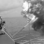 Vietnam War 1968 - The Battleship  Firing thumbnail