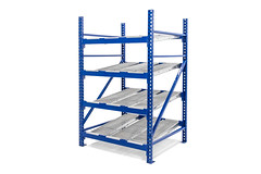 UNEX-Roller-Rack (unexmanufacturing) Tags: 2017 industrialproducts materialhandling njindustrialphotographer rollerrack unex yellowyellowyellow lakewood nj usa retail racking distribution racks