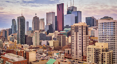 Toronto (Richard Pilon) Tags: panorama ontario toronto olympus architecture urban