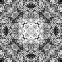 1663743962 (michaelpeditto) Tags: art symmetry carpet tile design geometry computer generated black white pattern