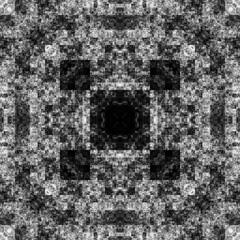 0273235019 (michaelpeditto) Tags: art symmetry carpet tile design geometry computer generated black white pattern