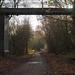 reaching the old footbridge