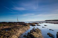 Kingsbarns Beach (Fifescoob) Tags: kingsbarns beach fife standrews coast rock rockpool scotland seascape landscape sea ocean coastal walk winter cold canon leefilters