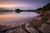 Rive droite (Thomas Vanderheyden) Tags: poselongue longexposure sky ciel sea mer colors couleur fujifilm thomasvanderheyden paysage landscape plage beach pink rose violet bretagne tregastel france beautiful earth