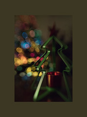 I wish every day was Christmas ... ! (mariola aga) Tags: christmas xmas christmastree lights bokeh treeshape lensbaby sweet80 art thegalaxy