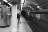 untitled-28-2-Edit (dvlmnkillatron) Tags: film canonetqlgiii rangefinder 35mm selfdeveloped chicago bw cta blueline station perspective tunnel