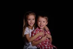 Sibling Love (Jan Liška) Tags: portrait studio siblings girl boy love caucasian southbohemia fotografjiznicechy