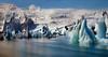Jökulsárlón (ellen-ow) Tags: island iceland gletscher see wasser eisberge jökulsárlón glacier iceberg himmel sky blau blue ice eis nikond5 ellenow landschaft landscape schnee snow berg mountain