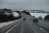 Snowy A34 near East Isley (Carneddau) Tags: a30 a34 eastisley east fromcar north snow eastilsley england unitedkingdom