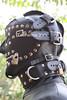 Leather Hood (leatherman2011) Tags: leather hood restrained bondage bound