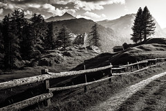 past (chris.regg) Tags: ruin castle splügen viaspluga hiking alps swissalps grisons old path past hill rock mountains bw blackandwhite monochrome switzerland decay