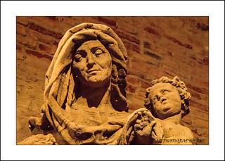 Statue of St Anna, Prague, Czech,Republic