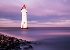 New Brighton Lighthouse (Andrew Brammall Photography) Tags: lighthouse trinityhouse merseyside mersey estuary misty sea river maritime longexposure 20stopper perchrock newbrighton top20lh
