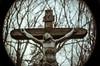 IESVS·NASARENVS·REX·IVDÆORVM (taxtamas) Tags: jesus christ cross outdoor inri cctv fujian sony a6000 tündérmajor