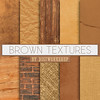 "Brown Digital paper: ""Brown Textures"" with brown wood digital papers, brown burlap paper, brown brick, brown scrapbook, brown backgrounds (Digiworkshop) Tags: etsy digiworkshop scrapbooking illustration creative clipart printables cardmaking textures brown"