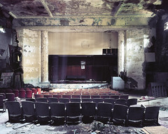 (.tom troutman.) Tags: mamiya 7 film analog 120 6x7 kodak ektar 50mm ny abandoned theater mediumformat