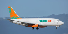 B737 | N737CS | HNL | 20171120 (Wally.H) Tags: boeing 737 boeing737 b737 n737cs transair hnl phnl honolulu airport