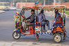 Whizzing by (AndMakeItSnappy) Tags: india rajasthan jaipur thepinkcity tuktuk colourful
