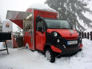 Tatry Car Bar mobile coffee van