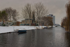 Wintertime! (H. Bos) Tags: sneeuw snow winter december weer weather almere