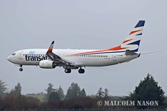 B737-8Q8 C-GYQW ex OK-TVJ AIR TRANSAT (shanairpic) Tags: jetairliner b737 boeing737 shannon airtransat smartwings cgyqw oktvj