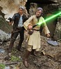 Luke and Han (chevy2who) Tags: inch six series black figures action skywalker luke solo han wars star