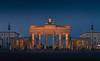 Brandenburger Tor (dominidomk) Tags: brandenburger tor berlin history nightshoot bluehour