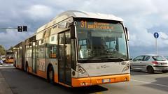 AMT 9331 (Lu_Pi) Tags: amt genova autobus bus autosnodato busarticolato vanhool ag300 amtgenovalinea31 ospedalegaslini