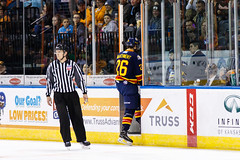 "Kansas City Mavericks vs. Colorado Eagles, December 16, 2017, Silverstein Eye Centers Arena, Independence, Missouri.  Photo: © John Howe / Howe Creative Photography, all rights reserved 2017. • <a style=""font-size:0.8em;"" href=""http://www.flickr.com/photos/134016632@N02/38428185944/"" target=""_blank"">View on Flickr</a>"