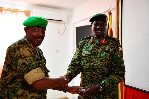 New UPDF Contingent Commander arrives in Somalia - AMISOM