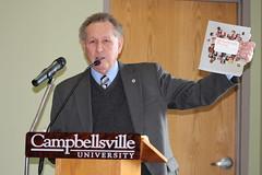 Dr. Frank Cheatham retiring