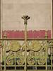 Art Nouveau balcony, Vienna (lucepics) Tags: otto wagner majolicahaus naschmarkt vienna austria jugendstil art nouveau architecture architect