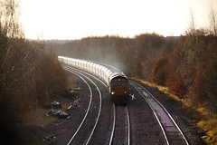 Gold Run.... (marcus.45111) Tags: glint ukrailways canonrailwayphotography flick flickuk gbrf gm moderntraction winter 2017 canon5dmk11