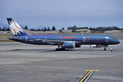 N904AW (QC PHOTOGRAPHY) Tags: seattle tacoma usa july 6th 2002 american west airlines arizona diamond backs b757200 n904aw