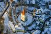 Water Castle (Aerial Photography) Tags: by mü obb 20122004 20d03880 7938013 abendlicht baudenkmal burg burganlage fotoklausleidorfwwwleidorfde luftaufnahme luftbild middleages mittelalter schnee stimmung winter aerial castle historicbuilding monument mood outdoor snow haagiobblkrmühldorfainn bayernbavaria deutschlandgermany deu