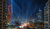 Downtown celebrations, Dubai (Abhi_arch2001) Tags: dubai uae united arab emirates downtown lights fountain burj khalifa park address hotel mall laser color towers balconies windows
