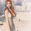 🍎 frozen (Apple aka Ossia) Tags: maitreya catwa league navy copper navycopper song enfant terrible bay second life blogger blogging photoshop photograph portrait snow ice frozen flakes stars gold ginger freckles