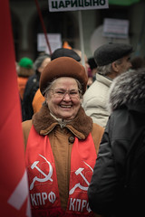 Commemoration of the centenary of the Russian Revolution in Moscow, 7 November 2017 (Aicbon) Tags: verde moscow москва́ russia rusia moskva europa europe موسكو moscova moscou russisk mosku масква moskou москва ruska مسکو 莫斯科 მოსკოვი モスクワ mɔsɩkʊʊ city ciudad ciutat capital soldier historico historic revolució revolucion revolution centenari centenario centenary military parada desfile militar guerra war october people portrait mujer woman 19172017
