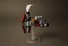 Mini steampunk Hammerhead-class cruiser (AdNorrel) Tags: lego moc spaceship legostarwars legosteampunk
