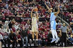 FSU Basketball vs UNC (Jacob Gralton) Tags: fsu basketball unc coach williams north carolina ncaa florida state espn dunk