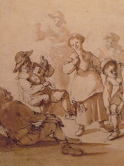 OSTADE Isaac - Fête Paysanne (drawing, dessin, disegno-Custodia) - Detail -x (L'art au présent) Tags: art painter peintre details détail détails detalles painting paintings peintures peinture17e 17thcenturypaintings peinturehollandaise dutchpaintings dutchpainters peintreshollandais tableaux paris fondation foundation france holland hollande animal animaux animals figures personnes man men hommes femme women woman female jeunefemme youngwoman boy littleboy garçon enfant kid kids child children peasantfair party feast paysan dog pet chien isaack