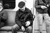 Sleepy Passenger (michael.mu) Tags: leica m240 leicasummicron35mmf20asph leicasummicronm1235mmasph warsaw warszawa metro streetphotography bw blackandwhite monochrome sleeping passenger