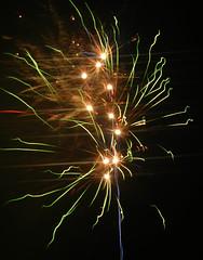 Fireworks (EvelienNL) Tags: firework fireworks vuurwerk newyearseve newyear oudennieuw nieuwjaar nieuwjaarsnacht jaarwisseling nacht night nighttime sky light lights colours colourful sparkles sparkling festive celebration green groen