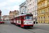Quer durch die Altstadt (trainspotter64) Tags: strasenbahn tramway tram tranvia streetcar tschechien mähren tatra t3 olmütz olomouc dpmo