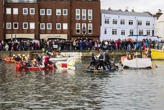 Bath Tub Race 2018 03 (Mark Rigler -) Tags: poole bath tub race 2018 water sea wet cold people sky boat craft fun crazy fight